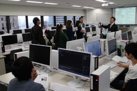 見学コース(14階パソコン室)
